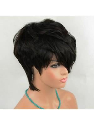 Magic Love Human Virgin Hair Factory Stocks Short Bob Full Lace Wig On Sale For Black Woman Free Shipping(Magic0493)