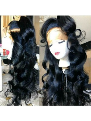 Magic Love Hair Loose Wave  Wig Pre Plucked Natural Color Human Hair wigs(MAGIC0158)