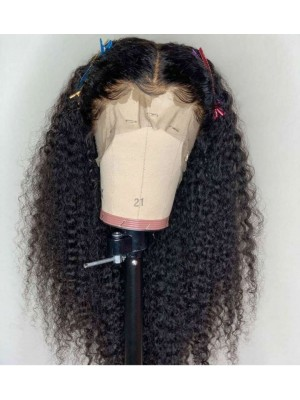 Magic Love Human Virgin Hair 13x6 Curl Pre Plucked Lace Front Wig &Full Lace Wig For Black Woman Free Shipping(Magic0293)