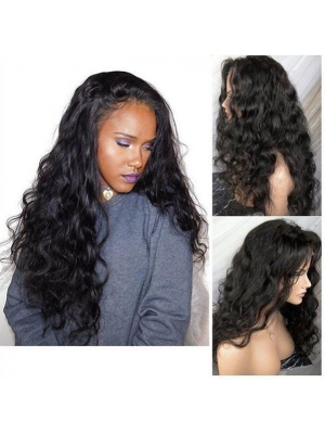 Magic Love Human Virgin Hair Wavy Pre Plucked Lace Front Wig & Full Lace Wig For Black Woman Free Shipping(Magic055)