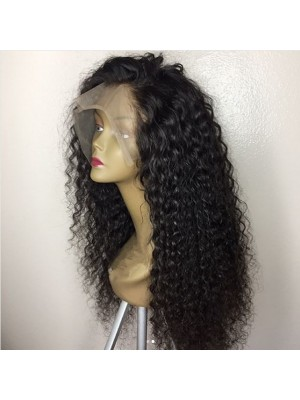 Magic Love Human Virgin Hair Jerry Curl Pre Plucked Lace Front Wig and Full Lace Wig For Black Woman Free Shipping(Magic043)