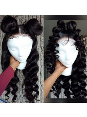 Magic Love Human Virgin Hair Wave Pre Plucked Lace Front Wig &Full Lace wig For Black Woman Free Shipping(Magic0144)