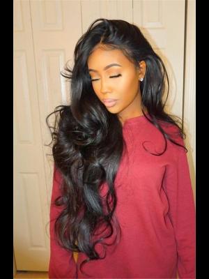 Magic Love Hair 300% Density Pre Plucked Human Hair Body Wave Closure Wig Made By Bundles And Closure/Frontal (MAGIC0225)