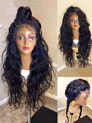 Magic Love Human Virgin Hair  Pre Plucked Lace Front Wig And Full Lace Wig For Black Woman Free Shipping (MAGIC0129)