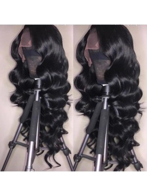 Magic Love Human Virgin Hair Pre Plucked Lace Front Wig And Full Lace Wig For Black Woman Free Shipping (MAGIC0142)