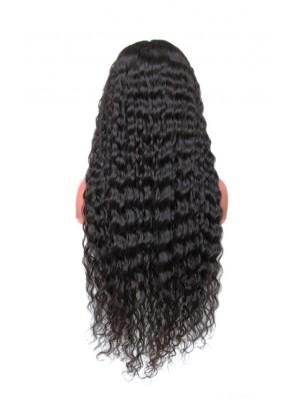 Magic Love Hair 300% Density Pre Plucked Human Hair Deep Wave Closure Wig Made By Bundles And Closure/Frontal (MAGIC009)
