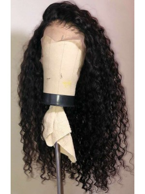 Magic Love Human Virgin Hair Pre Plucked Natural Color Curly Lace Front Wig & Full Lace Wig For Black Woman Free Shipping(Magic0295)