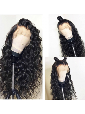 Magic Love Human Virgin Hair Loose Curl Pre Plucked Lace Front Wig &Full Lace wig For Black Woman Free Shipping(Magic051)