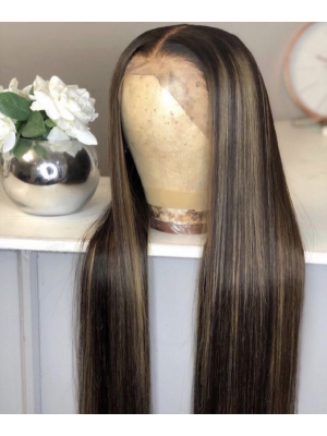 Magic Love Human Virgin Hair 13x6 Lace Front Wig And Full Lace Wig For Black Woman Free Shipping (MAGIC0381)