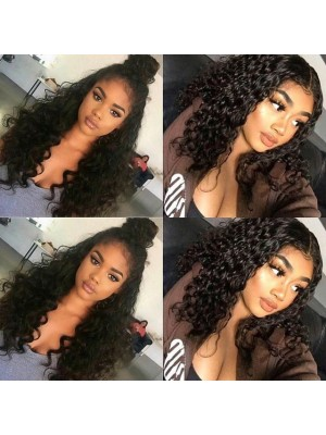 Magic Love Human Hair wig Pre plucked Brazilian Virgin Natural Jerry Curly Lace Wig(MAGIC002)