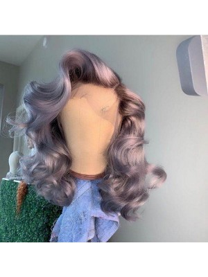 Magic Love 4/grey Pre Plucked  Lace Front & Full lace Wig Factory Stock Body Wave Human Hair wigs (MAGIC070)