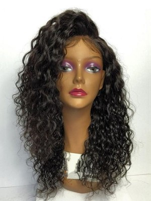 Magic Love Human Virgin Hair Pre Plucked Lace Front Wig And Full Lace Wig For Black Woman Free Shipping (MAGIC0131)