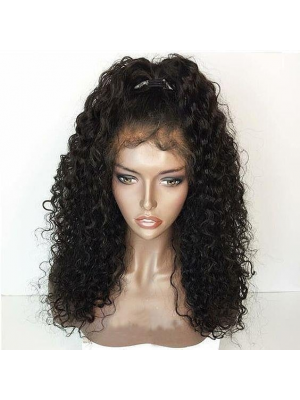Magic Love Human Virgin Hair Wavy Pre Plucked Lace Front Wig & Full Lace Wig For Black Woman Free Shipping(Magic056)