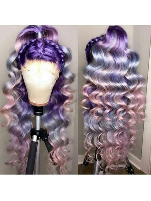 Magic Love Human Virgin Hair Ombre Color Pre Plucked Lace Front Wig And Full Lace Wig For Black Woman Free Shipping (MAGIC0217)