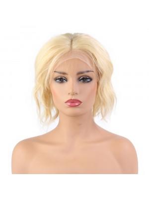 Magic Love Hair Brazilian Virgin Hair Color 613 Wave Bob Wig In stock  (MAGIC0117)