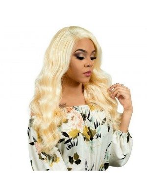 Magic Love Hair Brazilian Virgin Hair Color 613  Lace Front Wig&Full Lace Wig(Magic0107)