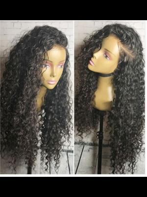 Magic Love Hair 360 Wig Curly Pre Plucked Human Hair wigs(MAGIC0121)