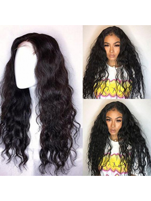 Magic Love Human Virgin Hair Loose Curl Pre Plucked Lace Wig For Black Woman Free Shipping(Magic0219)
