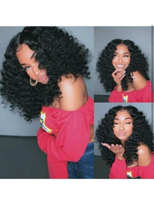 Magic Love Human Virgin Hair Curl Pre Plucked Lace Front Wig &Full Lace Wig For Black Woman Free Shipping(Magic0184)