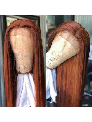 Magic Love Human Virgin Hair Straight Pre Plucked Lace Front Wig And Full Lace Wig For Black Woman Free Shipping (MAGIC0287)