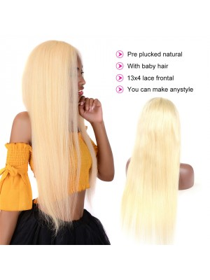 Magic Love Hair Brazilian Virgin Hair Color 613  Lace Front Wig&Full Lace Wig In stock  (MAGIC004)