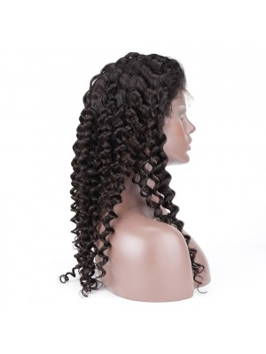 Magic Love Hair 360 Wig Curly Pre Plucked Human Hair wigs(MAGIC034)