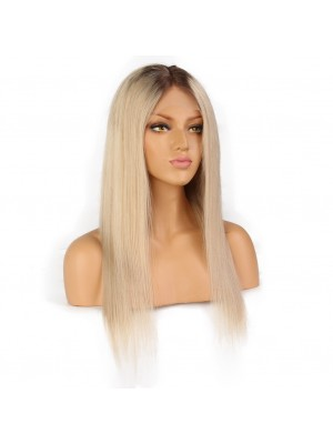 Magic Love #4/613 Pre Plucked Lace Front Wig &Lace Front Wig Factory Stock Straight Human Hair wigs (MAGIC073)