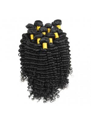 Magic Love Brazilian Virgin Hair Weaves Natural Deep Wave 100% Human Hair Weave Bundles Unprocessed Hair Weaving Extension(MAGIC025)