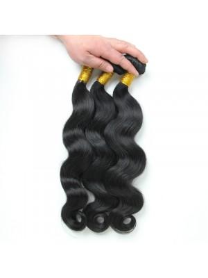 Magic Love 3PCS/LOT Body Wave Hair Weave Bundle 100% Human Hair Extensions Vigin Hair Double Weft Natural Black Can Be Colored(MAGIC022)