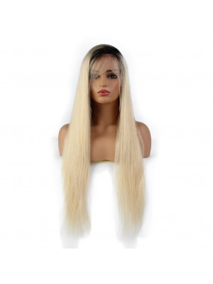 Magic Love Pre Plucked Ombre Factory Stock Color 1b/613 13X6 Human Hair wigs (MAGIC0120)