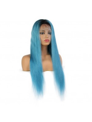 Magic Love Pre Plucked  Factory Stock Color 1B/Light Blue Human Hair wigs (MAGIC071)