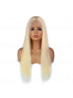 Magic Love Pre Plucked Factory Stock Blonde Color 613 13X6 Human Hair wigs (MAGIC042)