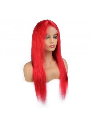 Magic Love Pre Plucked Factory Stock RED Color Lace Front &Full Lace wig Human Hair wigs (MAGIC048)