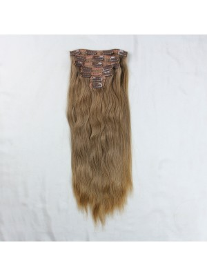 Magiclove Straight Clip In Hair Extensions 100% Brazilian Human Virgin Hair(Magic083)