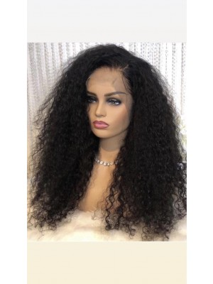 Magic Love Human Virgin Hair Curl Pre Plucked Lace Front Wig& Full Lace Wig For Black Woman Free Shipping(Magic0187)