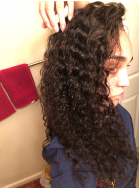 The hair is great and looks awesome when its wet. no shedding hair, The seller is very nice, respectful, and professional! I received the hair within 4 days! I will definitely be shopping with this vendor again! Thank you!